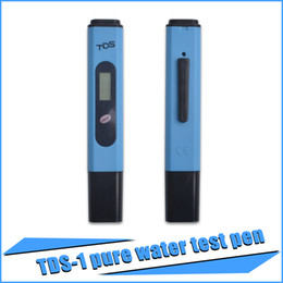 Wholesale 2016 New Digital LCD Pen Design TDS Meter Water Quality PH Tester For Aquarium Tap Water Titanium Alloy Probe Stick Monitoring