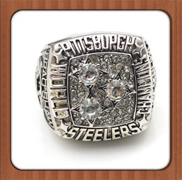 Wholesale Super Bowl Replica PS Championship Ring Men Alloy Rings Size