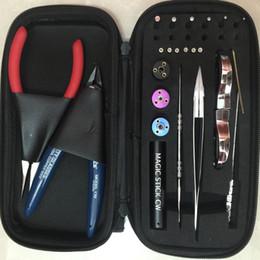 LOKIA Tool kit DIY Coil Tool kit For RDA RBA Atomizer Rebuilding Vape Mod
