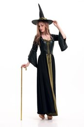 Halloween witches role playing Costume Deluxe Adult Womens Magic Moment Costume Adult Witch Halloween Fancy Dress