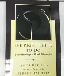 Wholesale 2015 books The Right Thing To Do Basic Readings in Moral Philosophy by DHL