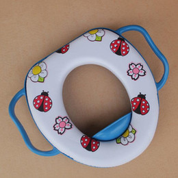 Wholesale Multicolor Baby Travel Potty Chair Seat PU Soft and Comfortable Kids Portable Toilet Assistant Multifunction Eco friendly Stool