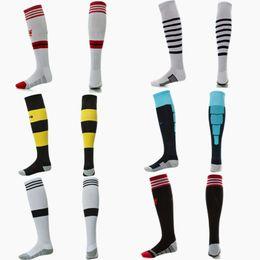 Wholesale Team Soccer Socks Knitted Sport Stockings Cotton Brand Away Football Socks for Men with Multi Color