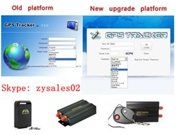 Wholesale oftware for gps tracking GPS tracker IMEI active Web tracking platform tracking software service for TK102b TK103 TK103B TK104 TK106 TK10