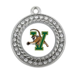 Wholesale NEW COLLEGE Vermont Catamounts SPORT team charm antique silver plated jewelry