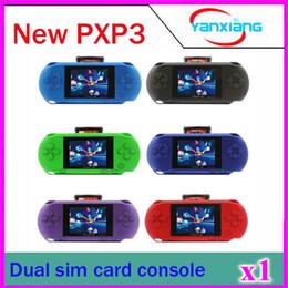 1pcs PXP3 station mince 16 bits Jeux vidéo Pocket Game Game + carte de jeu gratuit + Boîte de protection Bog + cadeaux! ZY-PXP3 à partir de 1pcs vidéo fournisseurs