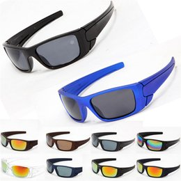 Wholesale Sun Wind Glasses - Cool Fashion Outdoor Sports Eyewear Cycling Glasses Wind Goggle Sunglasses For Men PC Lenses Designer Sun Glasses Cheap