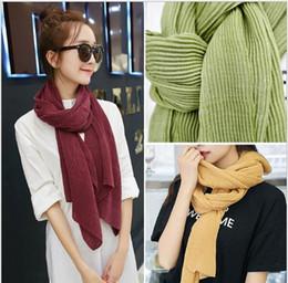 Promotion foulards en coton de marque de gros New Fashion Pashmina coréenne hiver Designer coton chaud Infinity Scarf Wrap gros 2016 Châle Femmes Filles Femmes cadeau de Noël Hot Sale