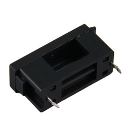 Wholesale BLX A type PCB Mounting Fusible Fuse Holder Solder x20mm Black Cheap