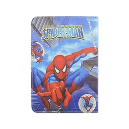 Wholesale Heroes Coming Amazing Superman Spiderman Batman Leather Cartoon Cases Kids Universal For inch Tablet