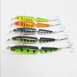 Счастливчики приманок Онлайн-Свободная перевозка груза 105мм / 9,6 г рыбалки приманки Lucky Craft Hard Bait пресной воды Deep Water Bass Fishing Два приманки