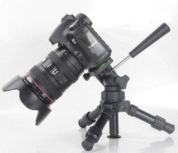 Trípode ligero de la cámara de DSLR Mini trípode universal de la cámara fotográfica digital de la cámara fotográfica trípode Soporte Trípode de la fotografía del ángulo bajo desde soportes de cámaras digitales proveedores