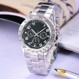 Wholesale Life waterproof automatic date steel with sports luxury fashion clock man watches seconds watches automatic movement