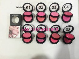 Wholesale 96PCS Face Mineral Pigment Blusher MINERALIZE BLUSH Powder Baked Cheek Color Blusher blush palette g oz DHL SHIPPING