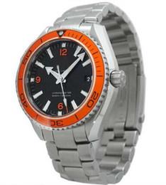 MONTRE de luxe 42mm bracelet en acier inoxydable occasion mais non utilisé Pro Planète Oean Hommes 232.30.42.21.01.002 montre à partir de pré en propriété fournisseurs