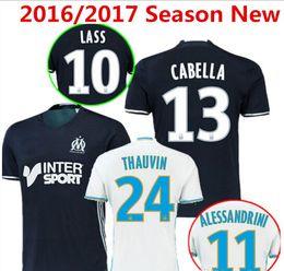 Wholesale Benwon Olympique de Marseille Soccer Jersey Batshuayi Gignac Maillot de Foot Payet Ocampos Lass Home Shirt kits Camisa Top Quality