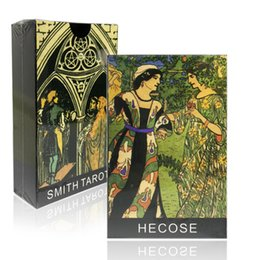 Wholesale New smith tarot cards high quality made by black core cards game board game