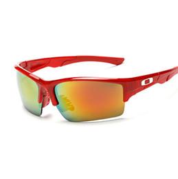 Wholesale New Sport Riding Sunglasses Men Mirror Coating Outdoor Glasses For Biking Driving Fishing Golfing Sport Sunglasses Cheap price