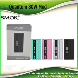 Wholesale Authentic Smok Quantum W TC Box Mod Over The Air OTA Technology Convenient Wireless Firmware Upgrade genuine