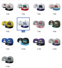 Wholesale New Fashion Top Quality Colors California Republic Snapbacks Cap Hip Hop Baseball Caps Adjustable Snapbacks For Mens and Womens