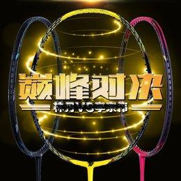 Wholesale badminton racket voltric z force ii lin dan victor badminton racket racquet string