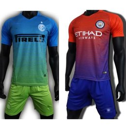 Wholesale Mixed Inter Milan Manchester City Arsenal Jerseys Away jersey ICARDI JOVETIC PERISIC ball