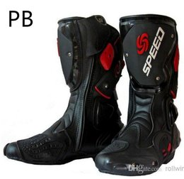 Wholesale Jessie s store Motorcycle Boots Men Racing Speed Motocross PB TD MR OT