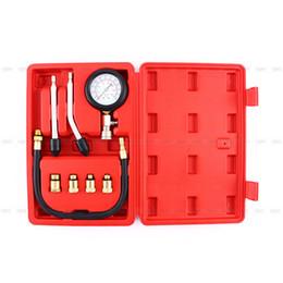 Wholesale Multipurpose Engine Cylinder Compression Tester Kit Automobile Pressure Gauge For Cars Motorcycle Garage Tool