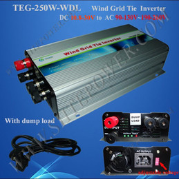 dc 12v to ac 110v 220v wind grid tie inverter for wind turbine 250w wind genetrator