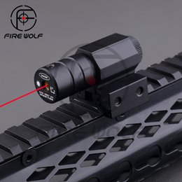 Wholesale Compact Tactical Red Dot Laser Sight Scope With Pressure Switch mm Picatinny Rail Mount For Hunting Rifle