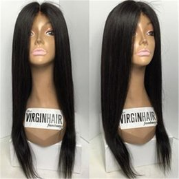 unprocessed peruvian full lace wig black women lace front wigs full lace human hair wigs straight human hair for african american