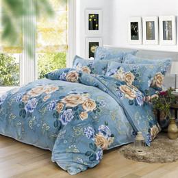 Wholesale 200 cm luxury bedding set bedclothes sets bedding article Plant cashmere bed sheet duvet cover pillowcase set Home textile