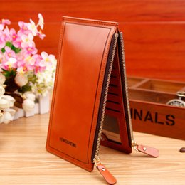 Portefeuille double portefeuille à vendre-Hot Sale Women Portefeuilles Fashion Double Zippers Longues Portefeuille Ultra-grande capacité Lady Luxury Purses Clutch Card Holders