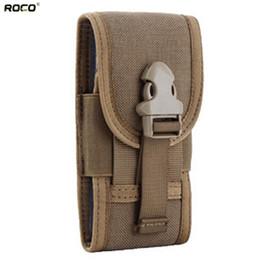 Wholesale Tactical Waist Packs Tactical Waist Belt Bags quot Phone Bag Cordura Nylon Coyote Brown Black CP Ranger Green