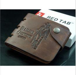 2016 New Fashion Men's Genuine Leather Wallets Multi-functional Men Wallet Bifold Purse Pocket Money Clip