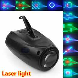 Wholesale Hot Party Necessity Auto Sound Active LEDs RGBW MINI Disco Light for Home Club Party DJ Show Hundreds of Patterns