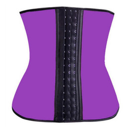 Three Breasted Neoprene Women Waist Cincher Tight Corset Training Belt Women Body Shaper