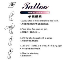 Wholesale Cheap Wholesale Sweats - Japan's new skull waterproof and sweat disposable black tattoo stickers Temporary Tattoos Cheap Temporary Tattoos
