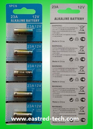 1000Blister Card 12V 23A alkaline battery A23 MS21 MN21 L1028 dry battery for door bell remote control