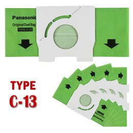 Wholesale 5pcs pack Replacement VACUUM DISPOSABLE BAGS fit for Panasonic vacuum cleaner type C AMC S5EP