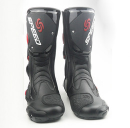 Wholesale Hot Sale Motorcycle Boots Men Motocross Shoes Racing Speed boot Moto Botas Probiker Riding Motorcycl Boots