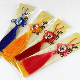 Wholesale Facebook hangs the Chinese knot hangs the Beijing opera facial makeup Chinese knot Chinese characteristic small gift