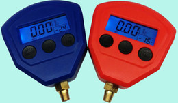 Wholesale Ceramic Silicon Diaphragm Automotive Air Conditioning Refrigerant Digital LCD Display Pressure Gauge