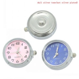 "Watch Face Fashion Click Buttons Snap Mixed For Fashion Bracelets 25x21mm,Knob:5.5mm(2 8"") Dia,5PCs ) button coat"