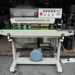 Wholesale FRMQ III ink printing date code continuous inflatable air gas sealing machine Continuous filling sealing machine PP PE PET bags sealing