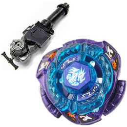 Wholesale Omega Dragonis Limited Edition Metal Fury D Beyblade Strongest Draconis BB128 L R Starter Launcher Hand Grip Light Launcher