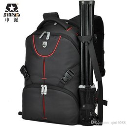 Multifunctional Digital SLR Backpack Camera Bag Case Duplex Waterproof Black Camera Photo Bag Backpacks