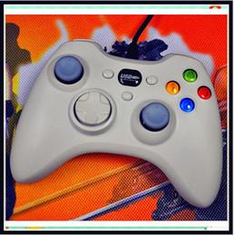 Controladores de xbox para la venta en Línea-Xbox 360 controlador USB cable de alambre controladores de juego de PC joysticks joystick de Gamepad con cajas al por menor para PC portátil xbox venta caliente