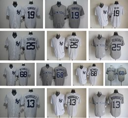 Wholesale 2016 Men s Alex Rodriguez Masahiro Tanaka Mark Teixeira Dellin Betances New York Yankees Cool Base jerseys Top Quality