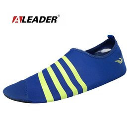 Wholesale Aleader Summer Men Beach Water Shoes High Quality Women Aqua Shoes Ladies Dance Training Gym Equipment Fitness Shoes For Unisex
